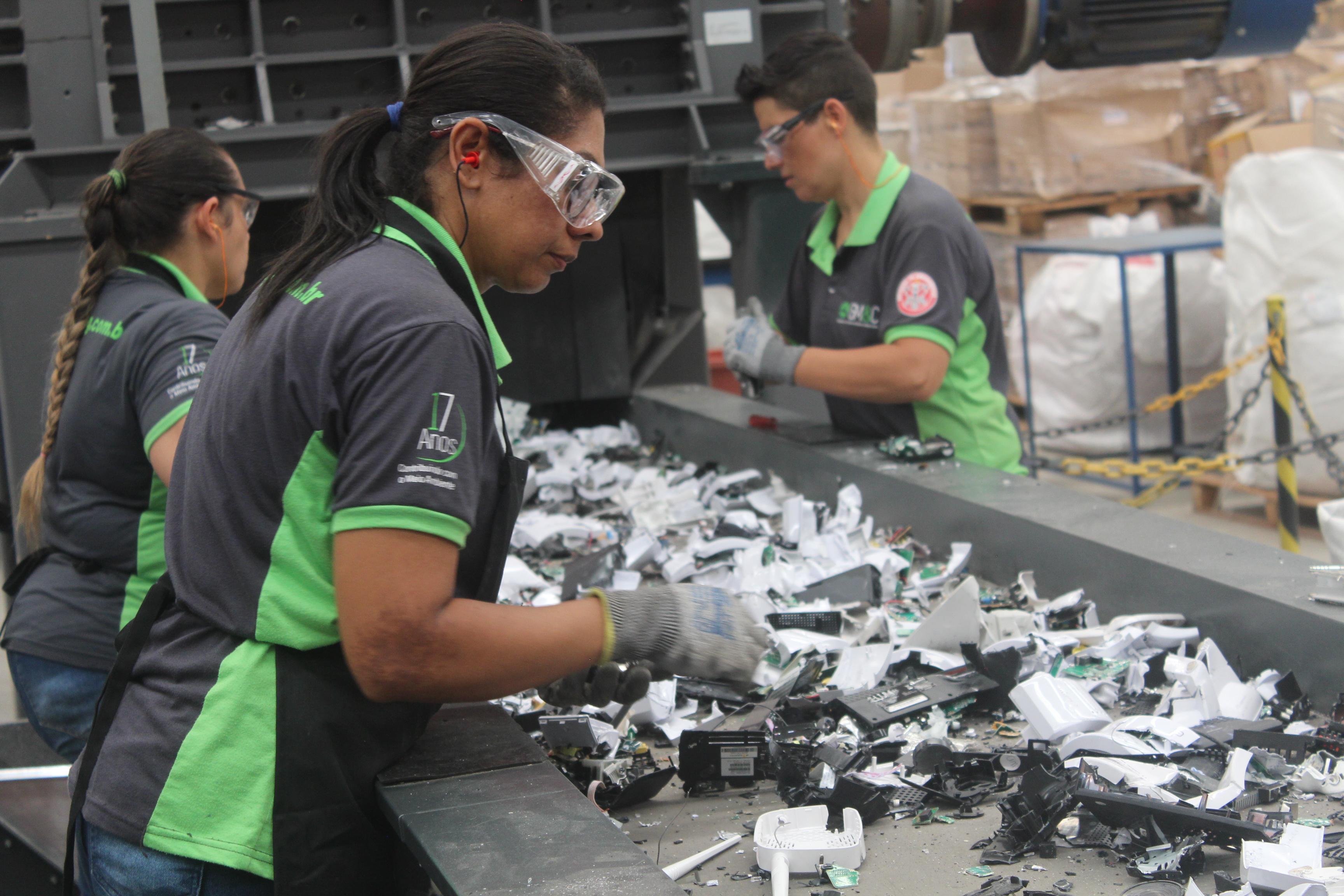 green eletron logística reversa